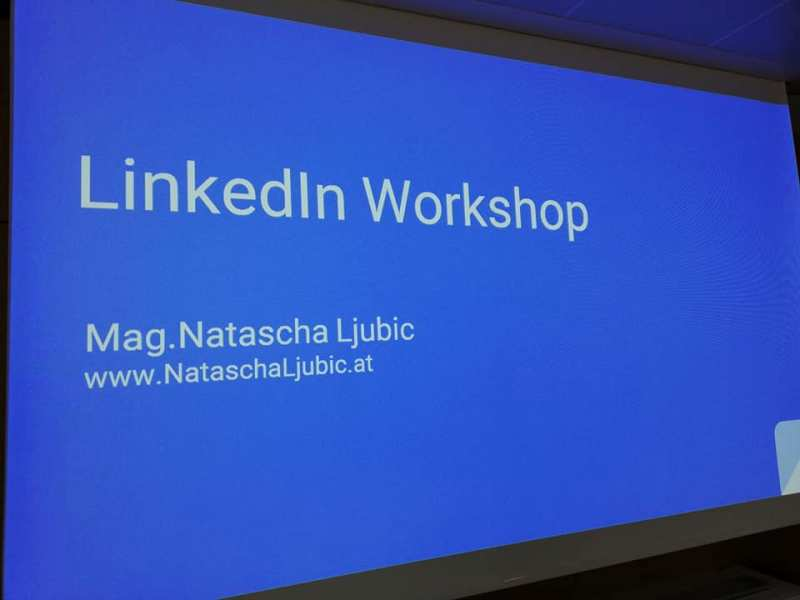 Linkedin Workshop in Wien